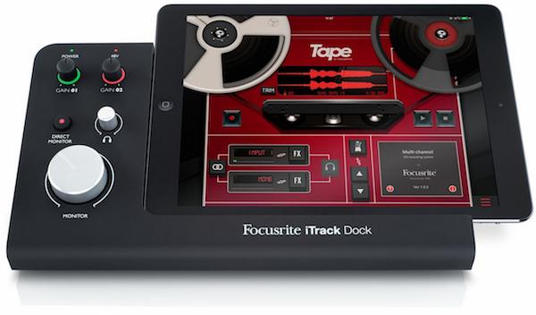 Focusrite iTrack Dock; Credits  Focusrite