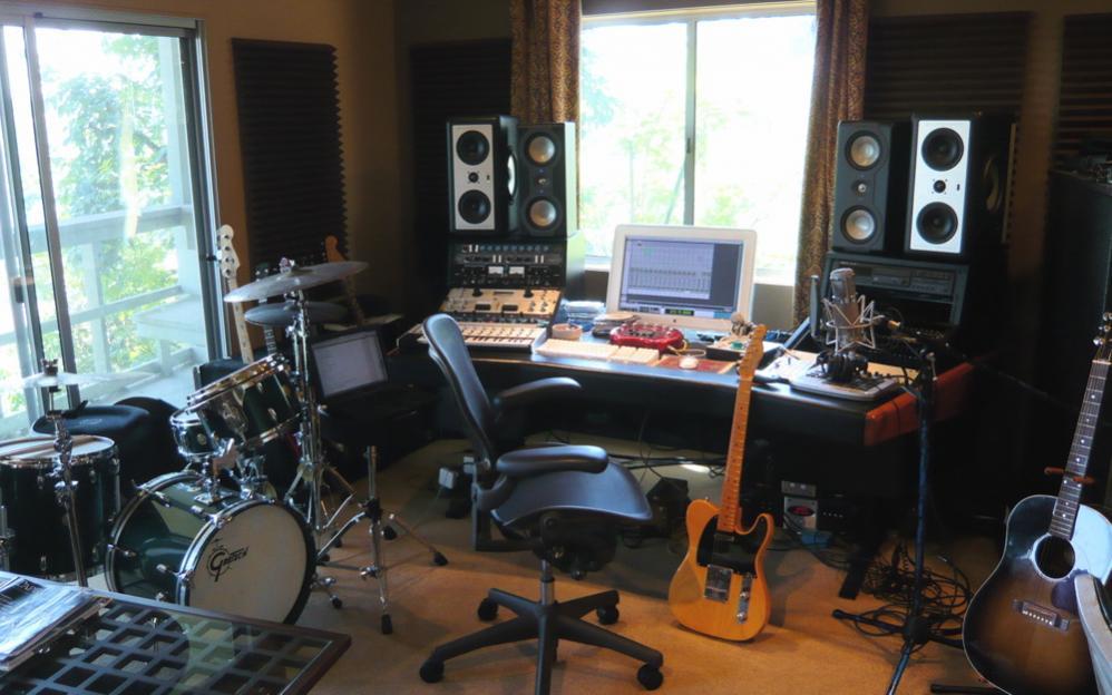 A Home Studio Setup