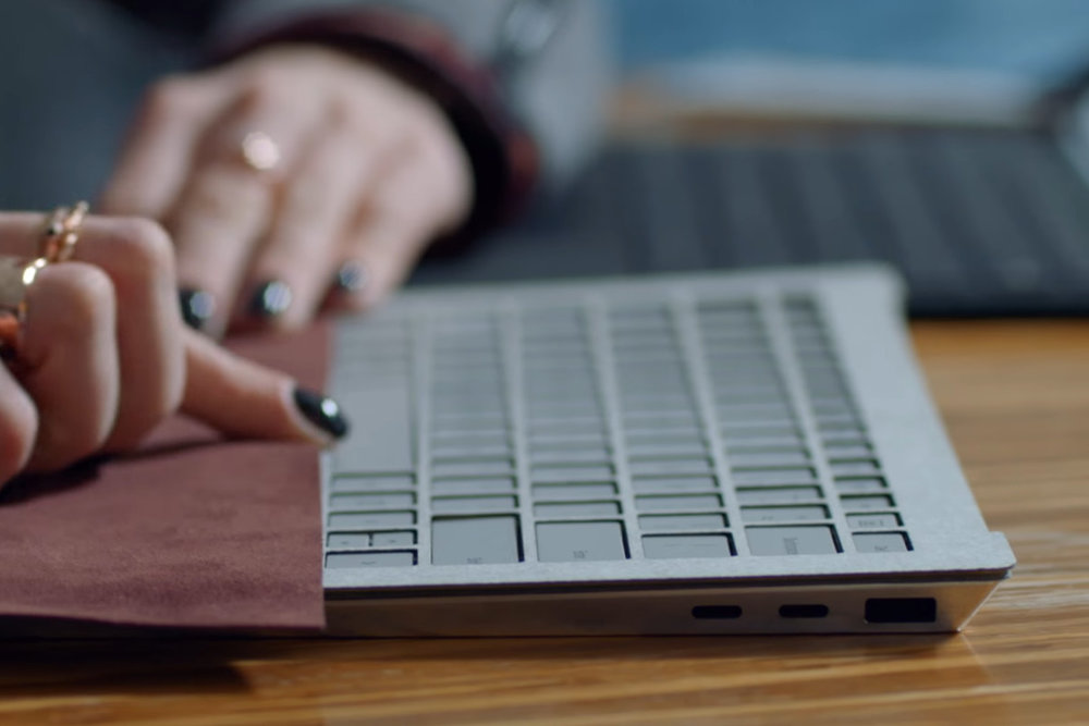 A prototype of the Surface Laptop, Credits  The Verge