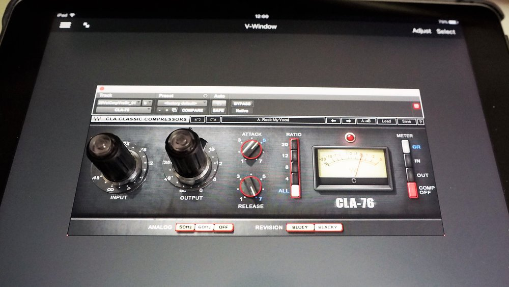 Tuna Knobs - Plugin (CLA-76) adjustment