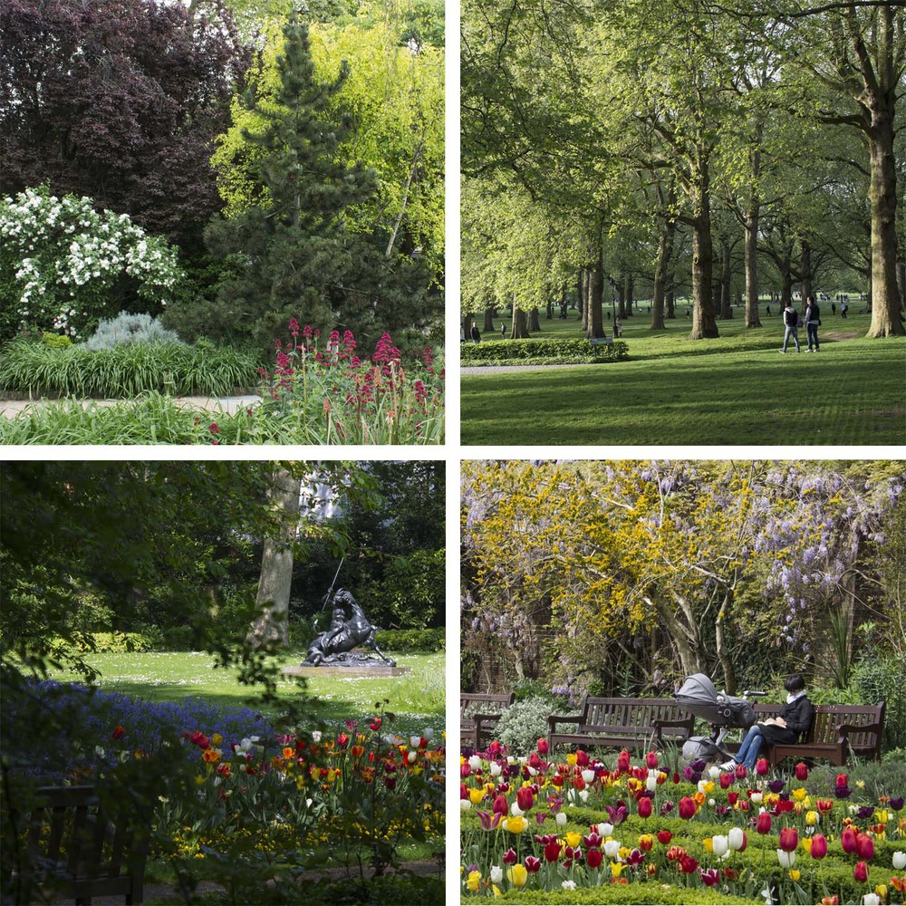 The beautiful London parks - a great way to welcome spring and to start dreaming of new creations.