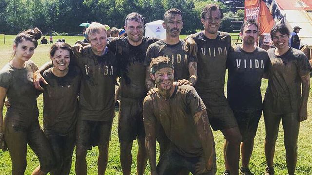So knackered I'm not even looking at the right camera but I had a blast at Tough Mudder on Saturday. Thank you to all these legends, we made quite the team #finallyclean #teamworkgoals #toughmudder #mud #muddy #teamwork