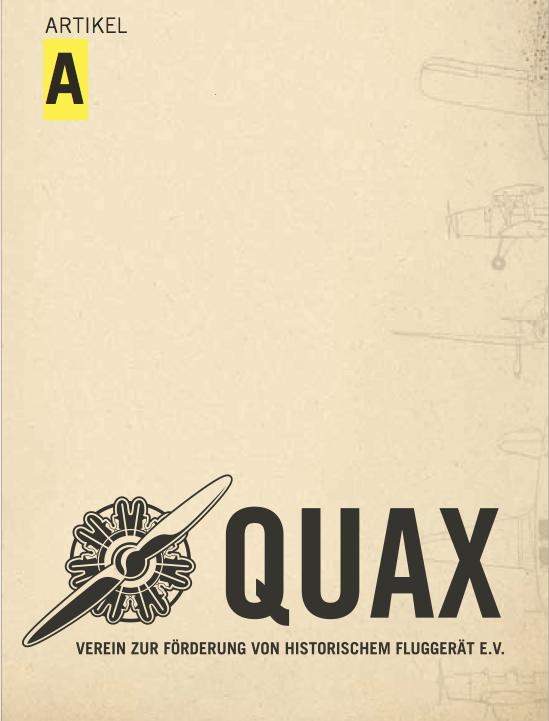 QUAX Merchandising Booklet >>