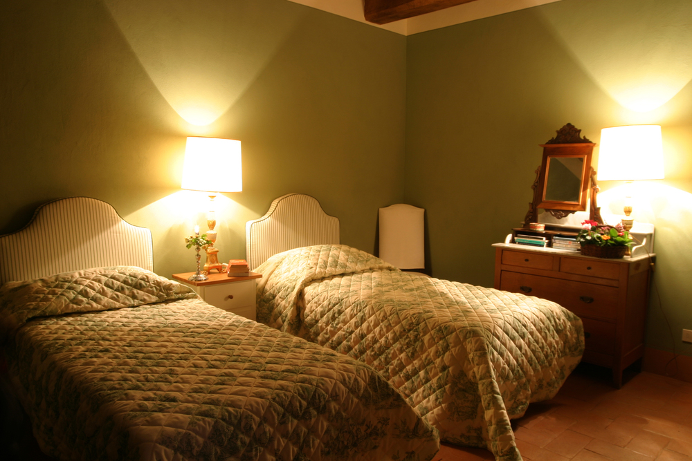 TWIN ROOM IN LE CAPANNE
