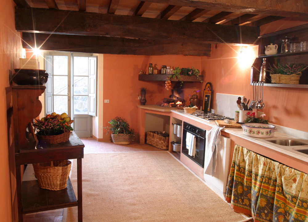 GUEST KITCHEN, LE CAPANNE