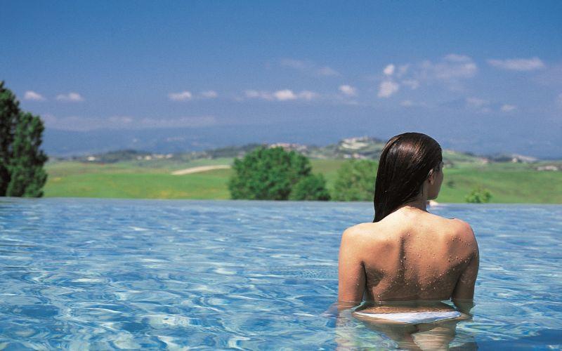 SAN CASCIANO DEI BAGNI - TUSCAN DAY SPA / THERMAN HOT POOLS