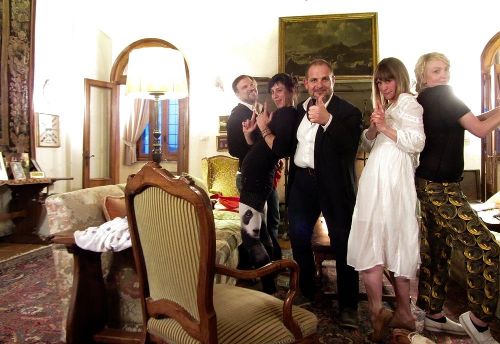 JASON, ANNA, CRISTIANO, JULIE & ROSA