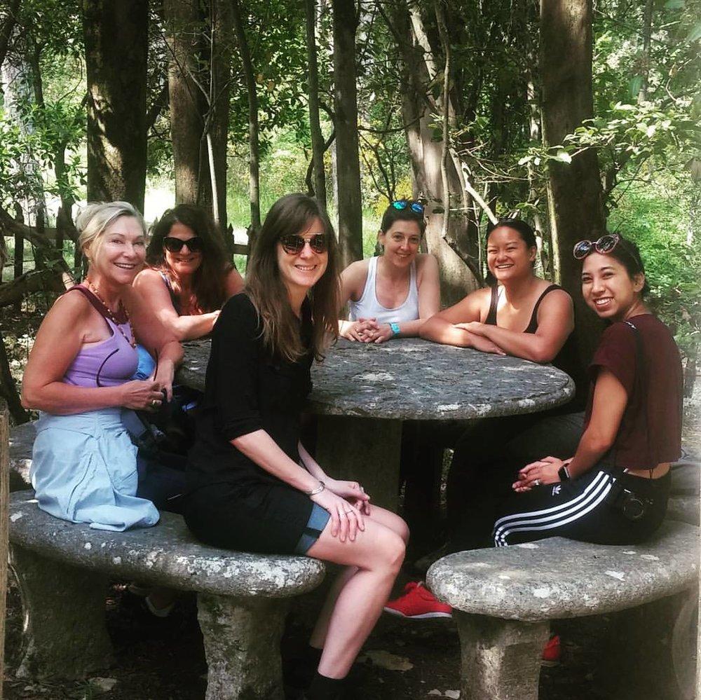 SARAH, COSETTE, MARY, AURELIE, MICHELLE, NOELLE