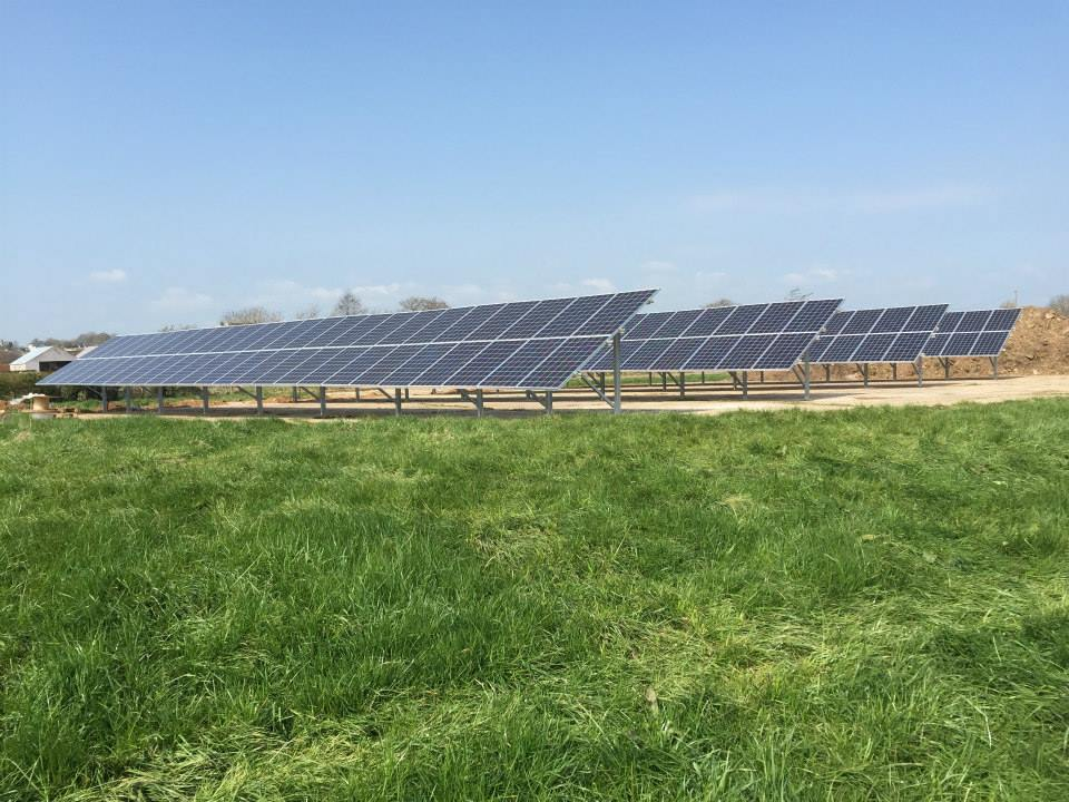 50KW Groundmount System - Ardboe, Co. Tyrone