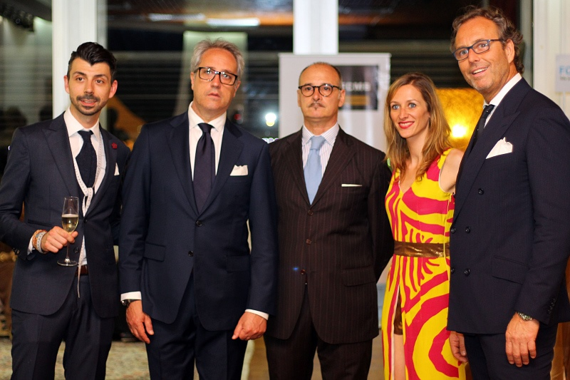 Almi Bespoke team with Ms Rosset  & Mr Armando Nebolini.jpg