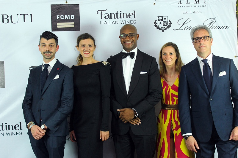 Mr Christofer Kaprelian (Almi Bespoke), Ms Caterina Bortolussi, r Ladi Balogun (MD FCMB(, Ms Fran Rosset, and Mr Francesco Cocilovo (Almi).jpg
