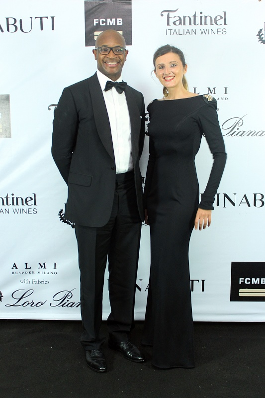 Mr Ladi Balogun(MD FCMB) & Ms Caterina Botolussi (Creative Director Kinabuti).jpg