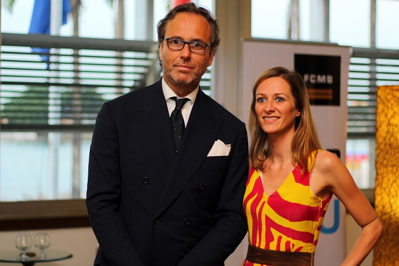 Mr Victor (Loro Piana export manager) & Ms Rosset .jpg