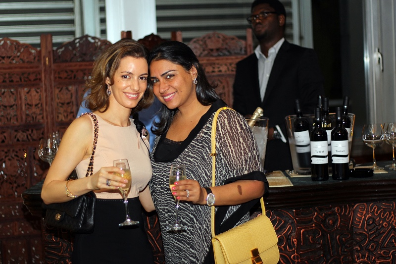 Ms Caroline Saraki & Ms Amisha Chellerams.jpg