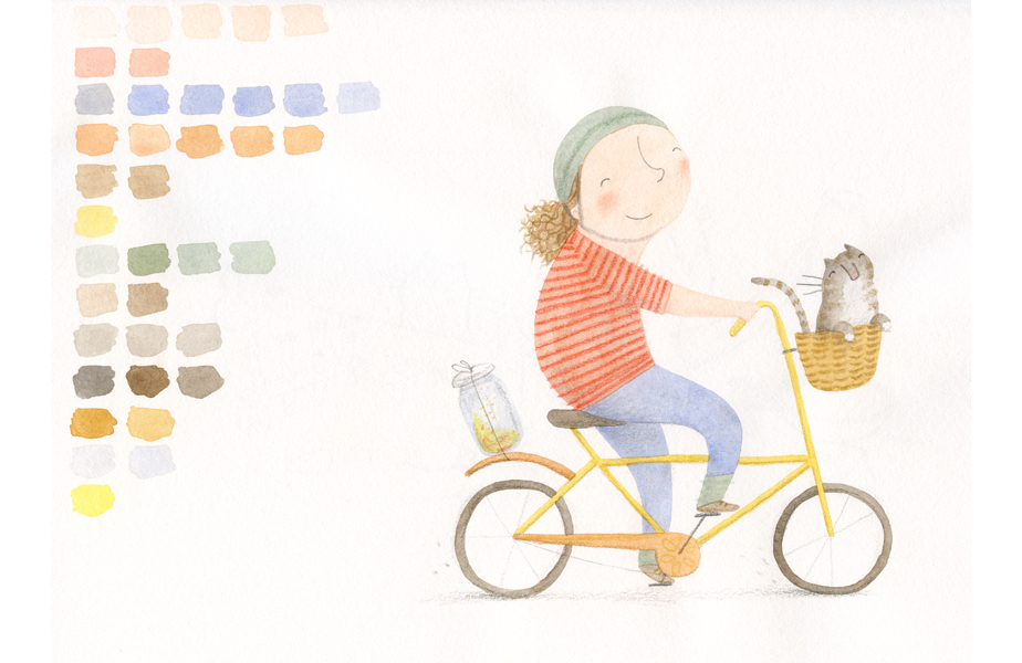 Sketchbook Snippets_Girl On Bike.jpg