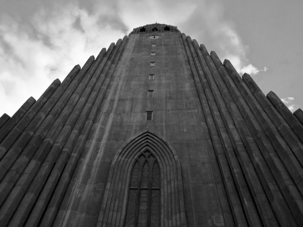 Hallgrimskirkja Cathedral - Reykjavik, Iceland
