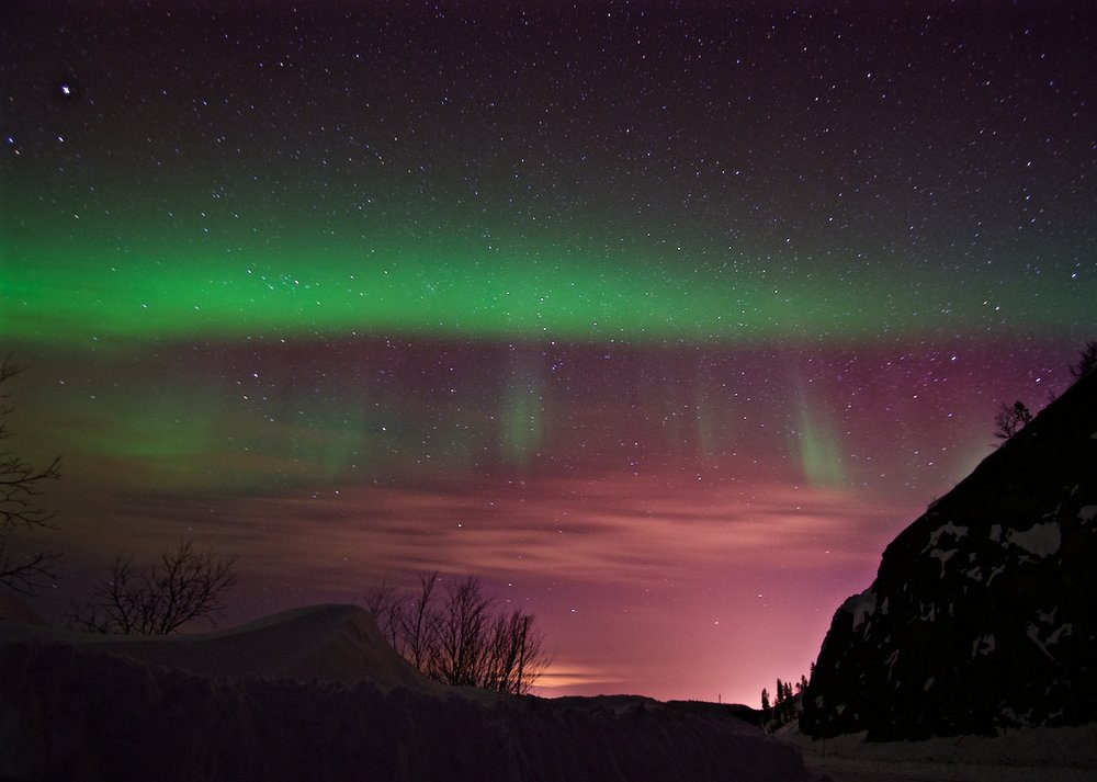 Northern Lights - Kirkenes, Norway