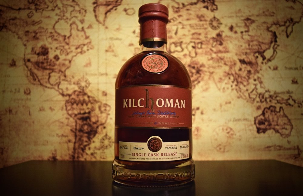 Kilchoman Single Cask Sherry Cask Strength - MA Independent Retailer Only