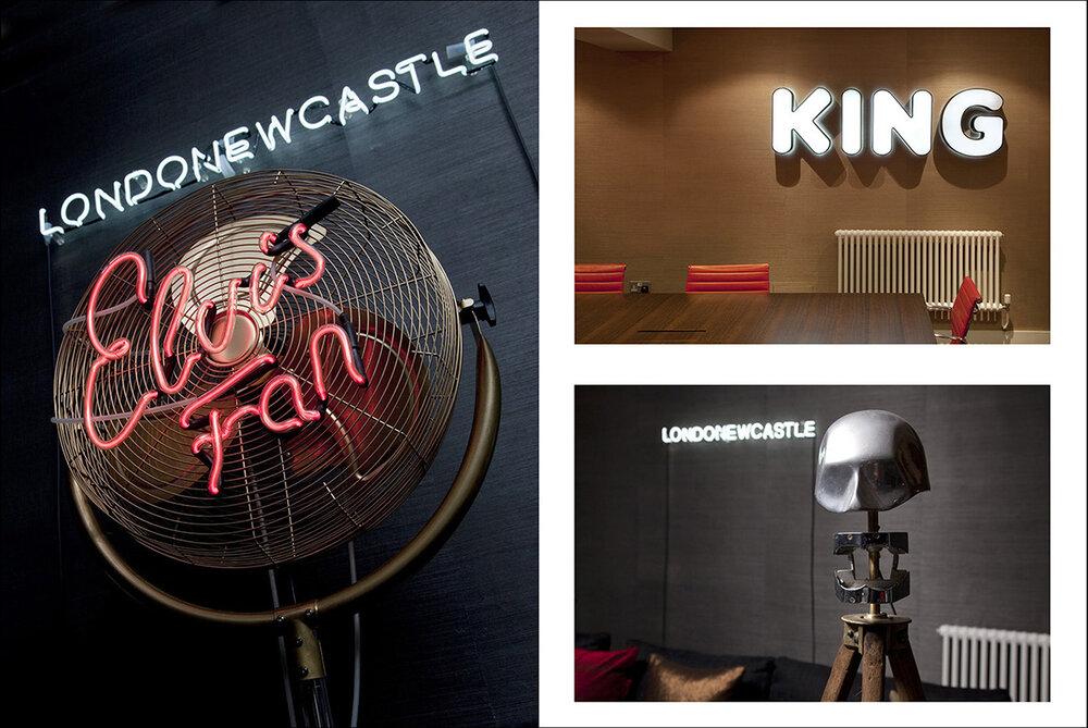Londonewcastle HQ interior detail