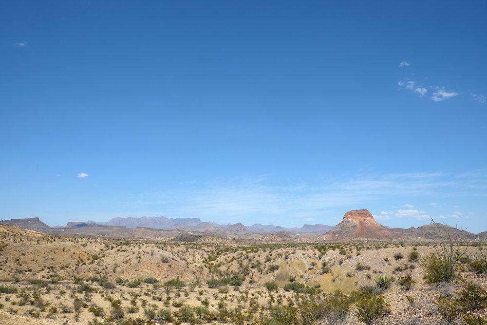 Chisos Mountain Range, TX