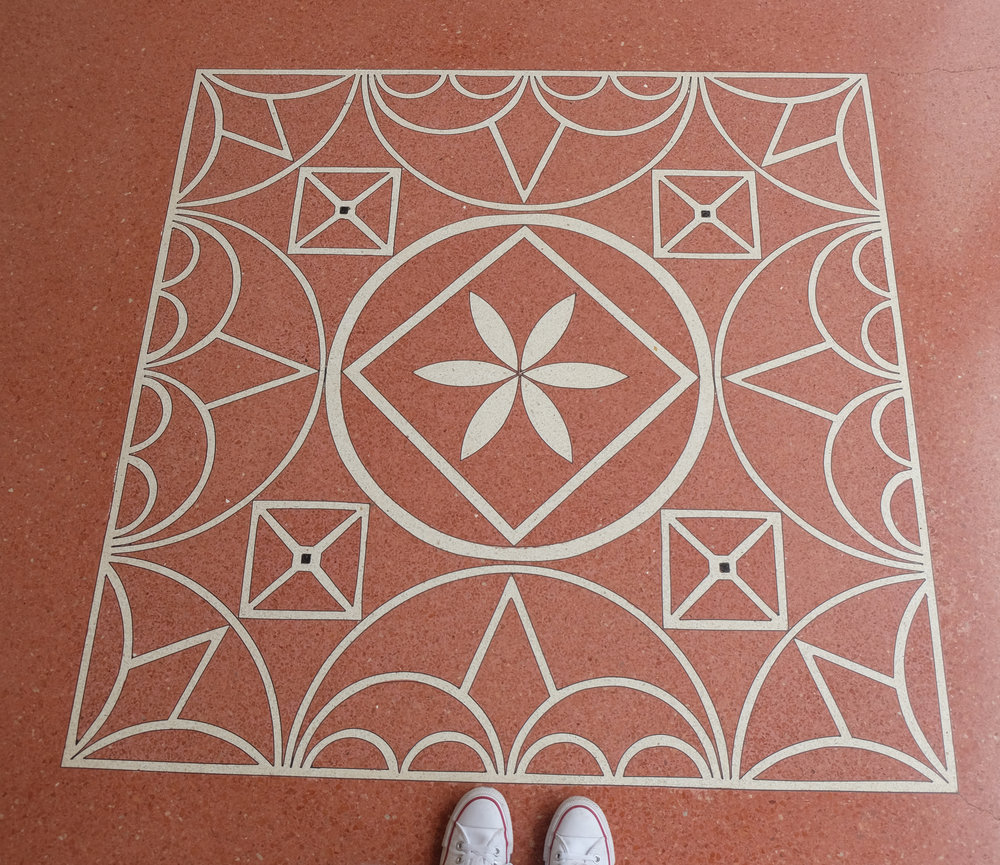 Getty Villa patterns