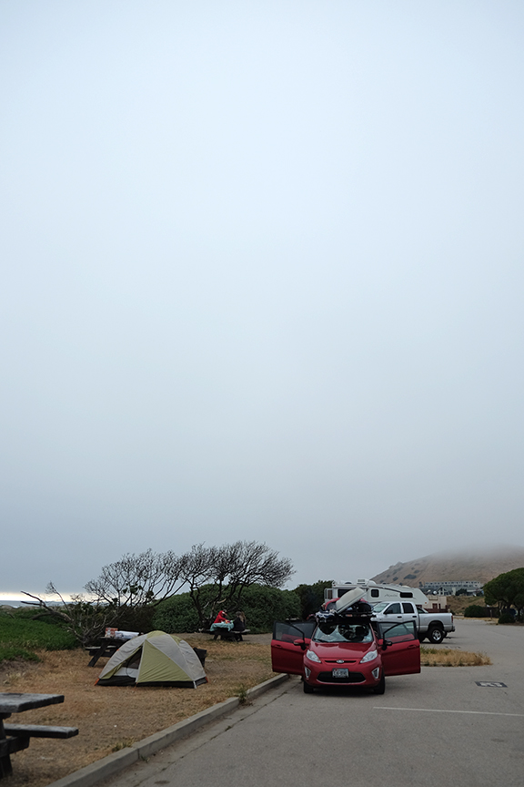 Morro Bay State Park campgrounds