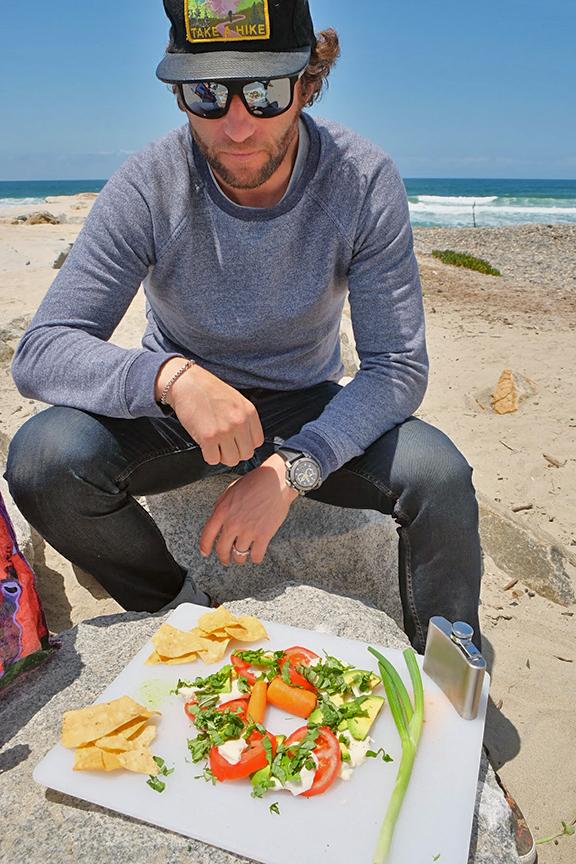 Healthy picnic care of Kaspar