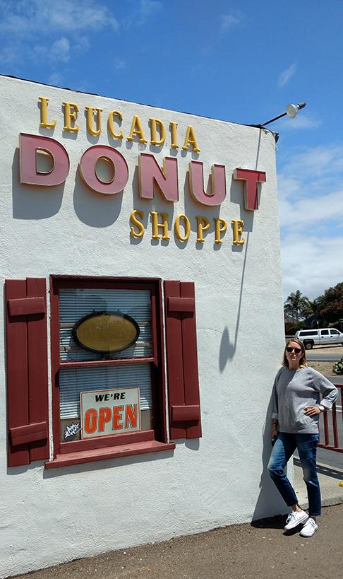 Quick stop in Leucadia...