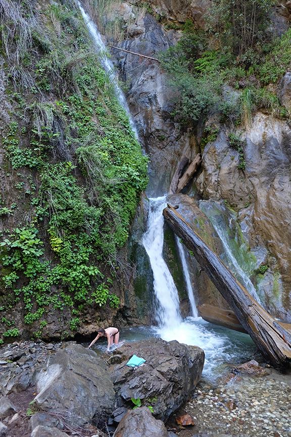 waterfall at Limekiln
