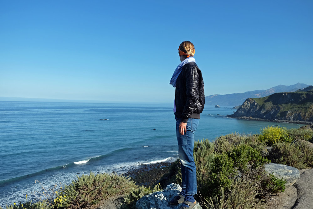check out the coast along the only open strech of route 1 in along Big Sur