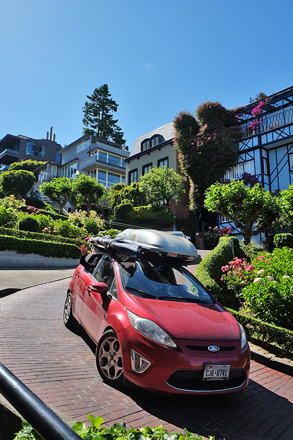 made it down Lombard street