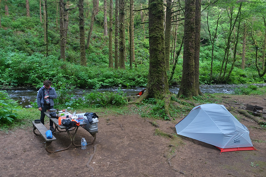 Rock Creek campsite