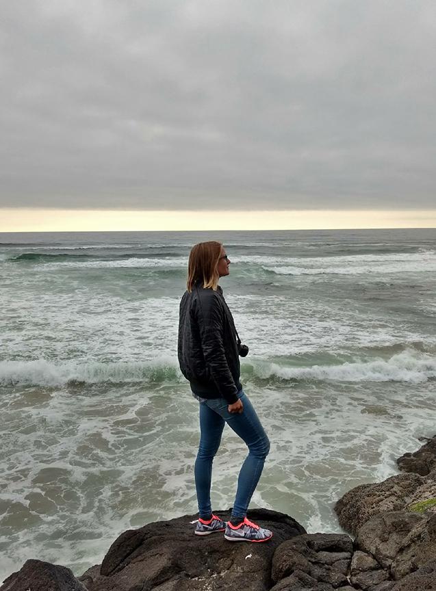 Ocean at Rock Creek Beach