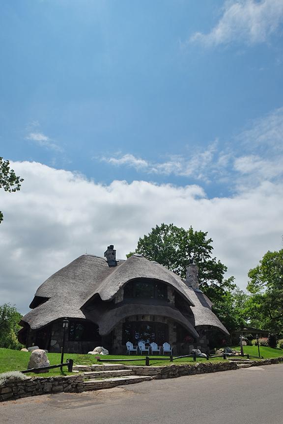 Earl Young's mushroom house