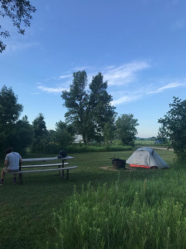 morning in Kilen Woods SP, MN