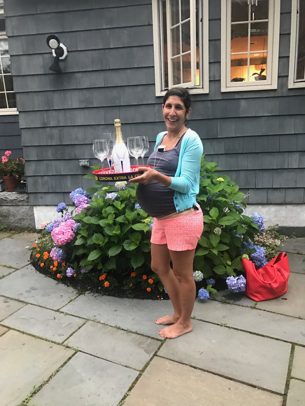some bubbly in Cape Elizabeth, ME