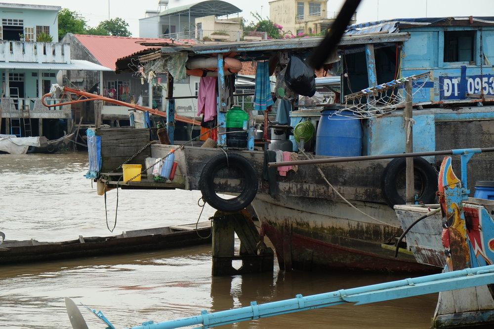 River boat life