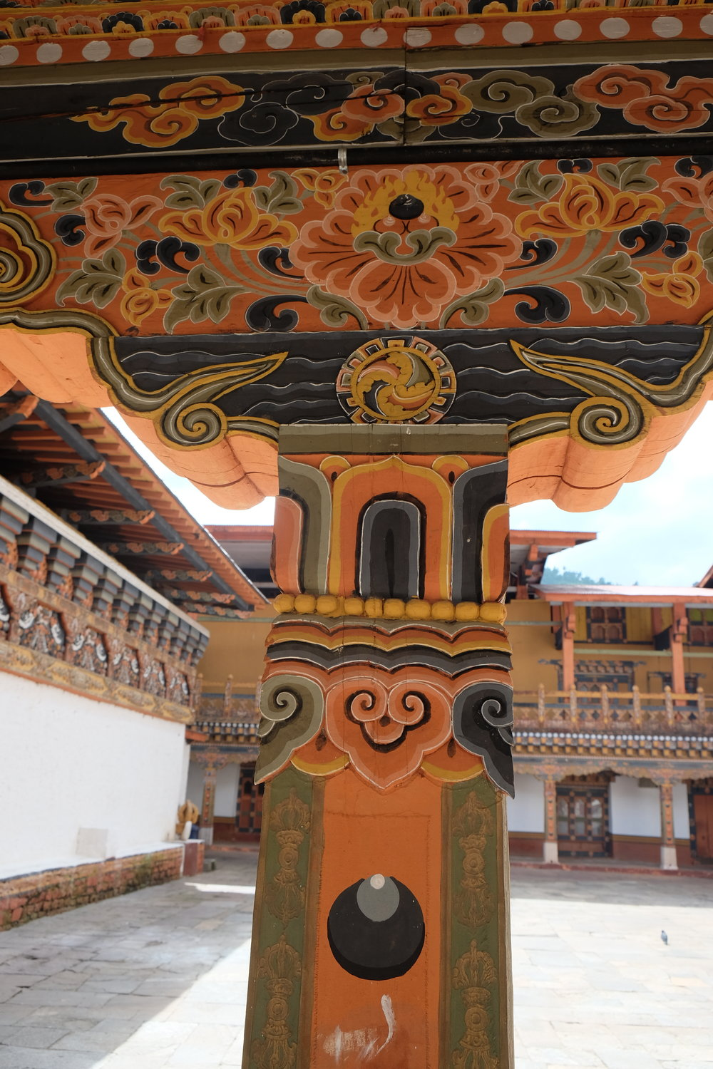 Dzong Detail Painting