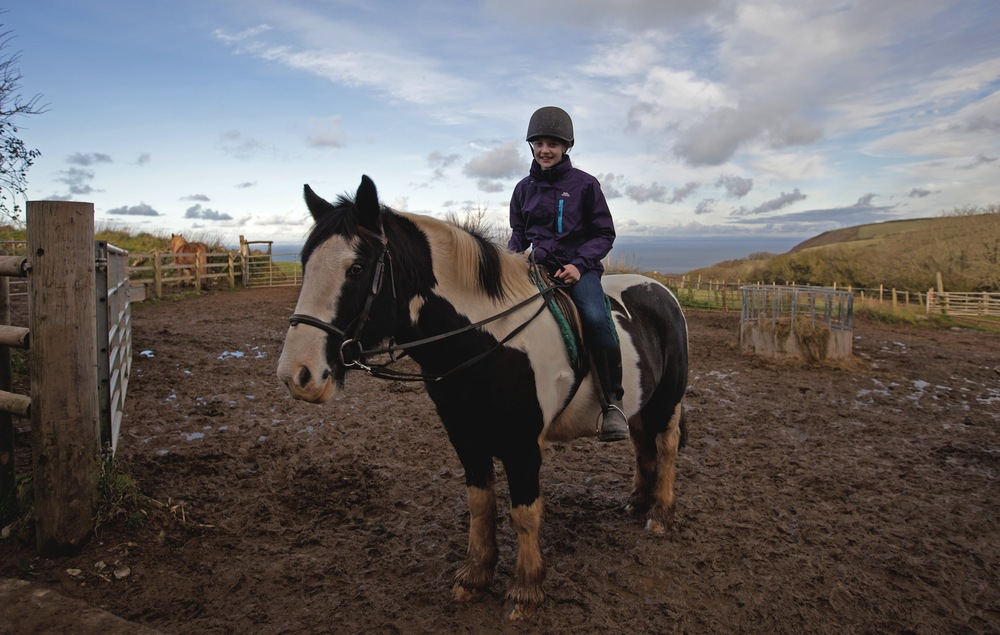 Horse Riding at Caffyn's Farm