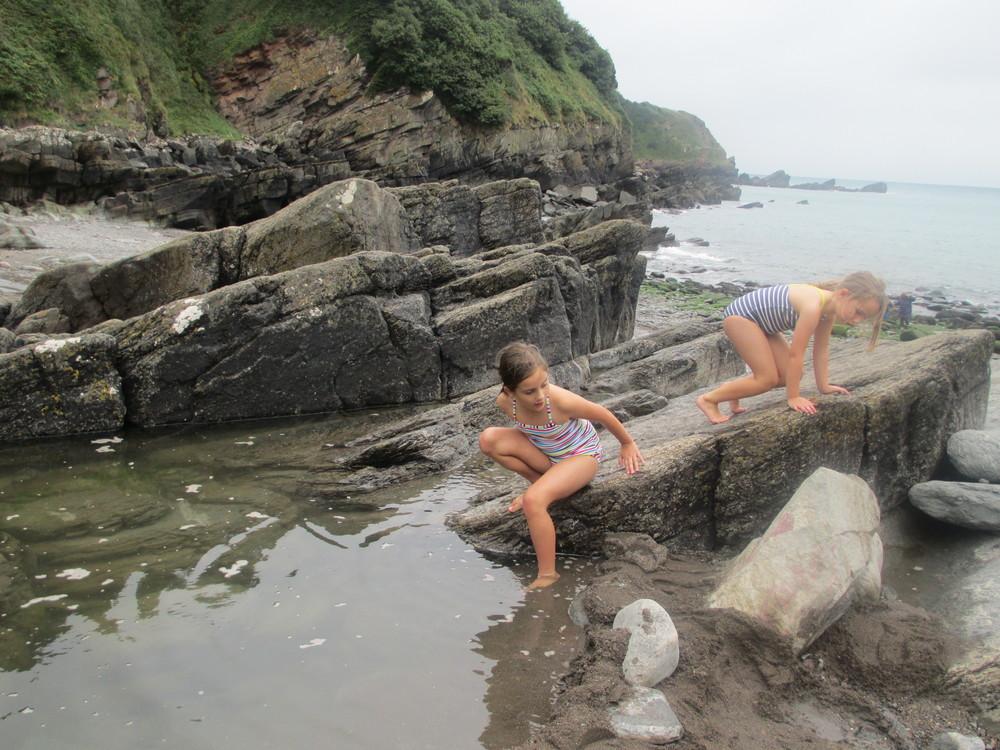 Rock Pool at Lee Bay