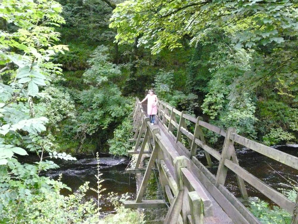 Footbridge at Rockford