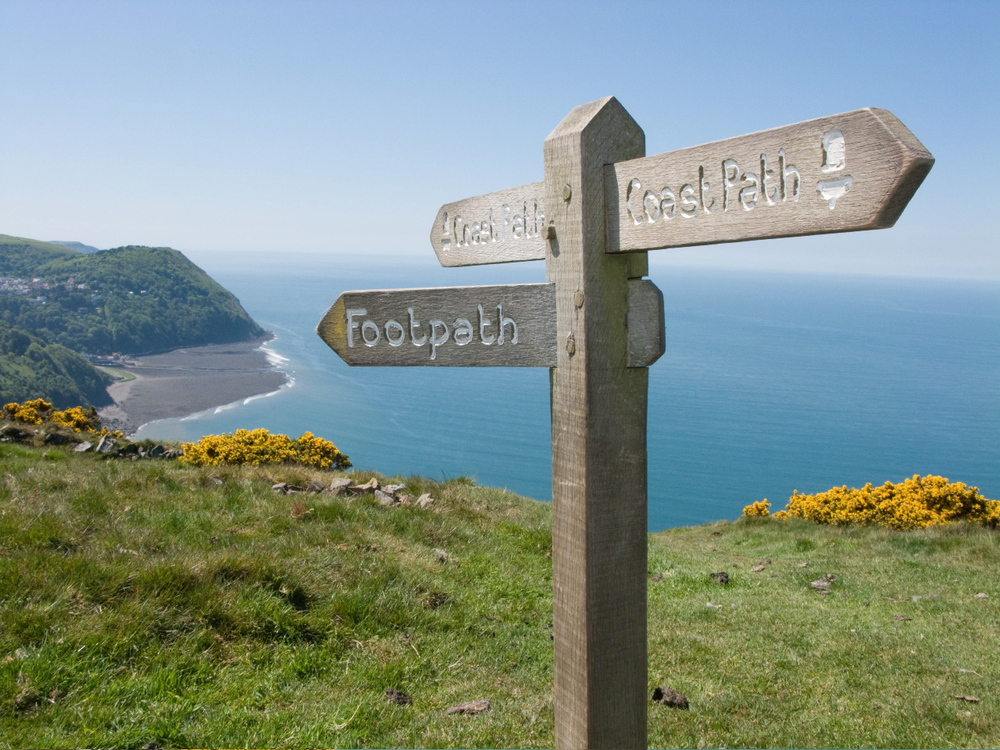 SouthWest Path at Countisbury