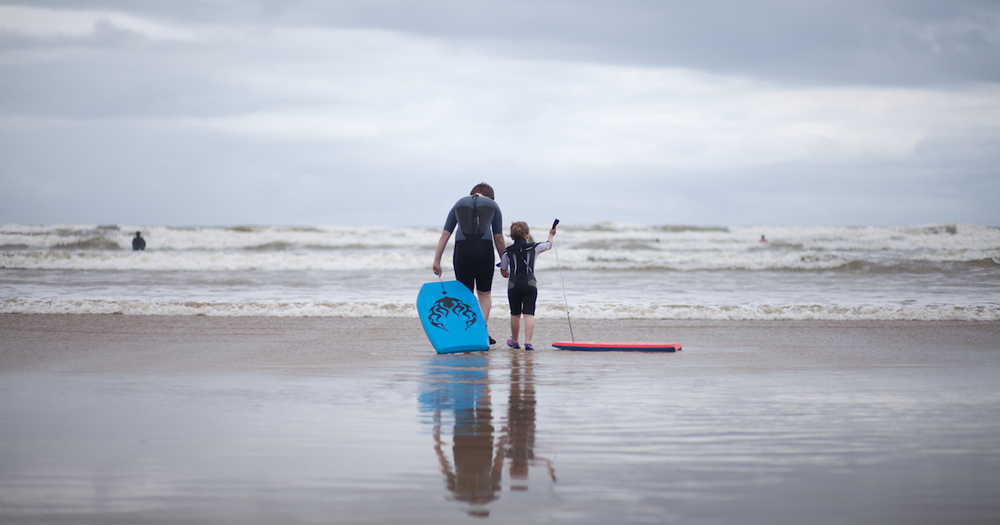 Surf at Saunton Sands