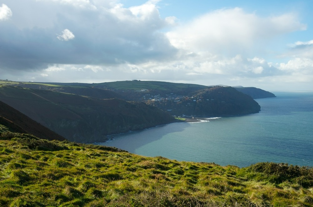View from Countisbury towards Lynton & Lynmouth