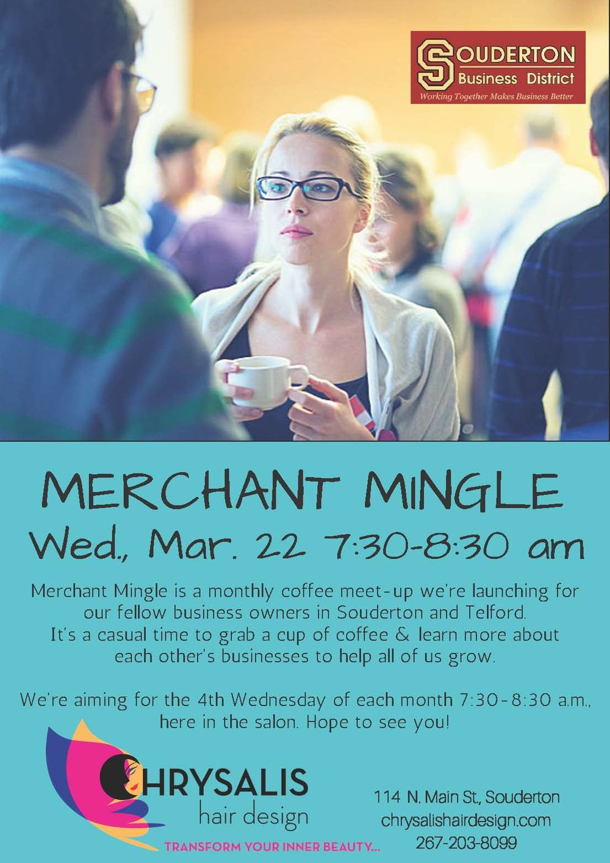 Merchant Mingle March 2017