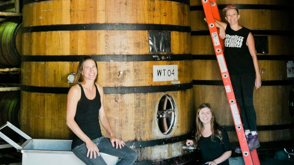 Santa Cruz's Women Winemakers   BY   CHRISTINA WATERS    POSTED ON   JUNE 28, 2016