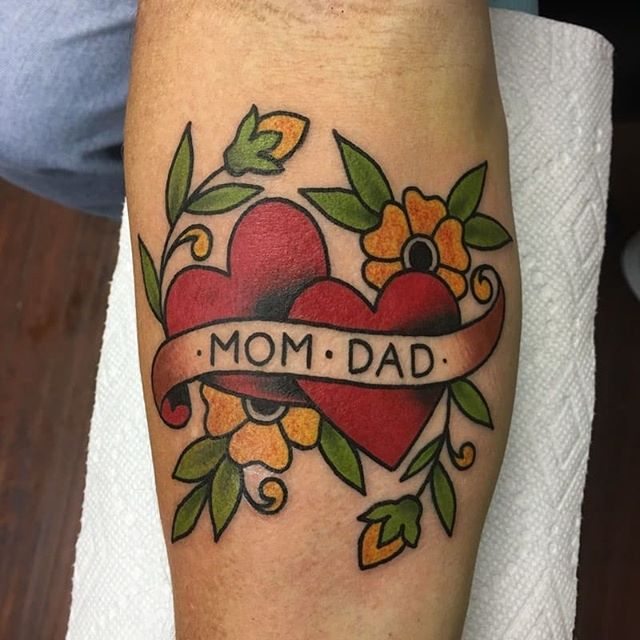 We will be closed this Sunday for Mother's Day! In the meantime, enjoy some Mom tattoos by @gabzilladathrilla