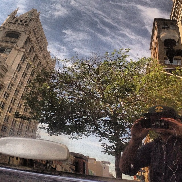 Selfie with cathedral bldg #2milesoftelegraph #reflex