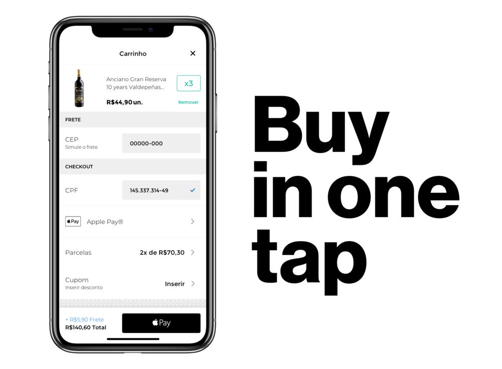 Buy in one tap