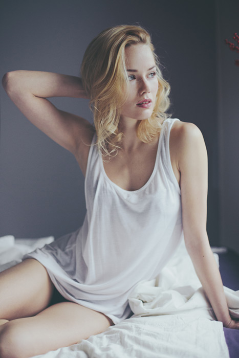 photo Ari Hallami model Hanna